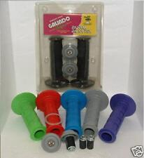 GALINDO BERM BUSTER GRIPS Purple w/BAR END PROTECTIVE CAPS Great for BARKBUSTERS