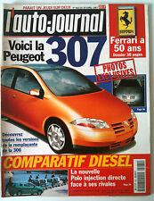 L'AUTO-JOURNAL du 04/1997; La 307/ 50 ans Fararri/ Comparatif Diesel/ Prost