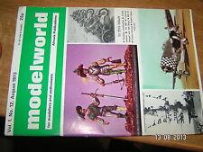 Modelworld Vol 1 n°12 08/1973 Zundapp KS600 ark Royal Cassino MG 34 Fw189 Condor