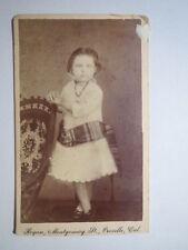 Oroville California-Elizabeth Jane li? Nard - 1880-Born 1876/CDV USA