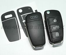 2A_arredamento chiave Adesivo per Audi A1 A3 A4 A6 TT Q7 nero opaco