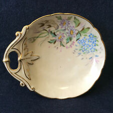 Porcelaine Limoges Charles Field Haviland peinte mono A.E fin XIX e début XX e