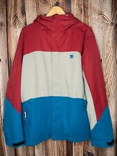 DC Shoe Co Amo 5K Waterproof Snowboard Snow Jacket Color Block Men's Medium