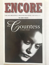 The Countess - May 2000 Playbill - James Riordan