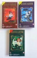Magic Knight Rayearth Vol. 1-3 VHS Tape Set 2000 Dubbed Manga Anime