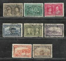 CANADA STAMPS #96-103 SET OF 8 (USED) FROM 1908