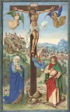 Illuminated Manuscripts: The Crucifixion, Germany, c.1475: Fine Art Print
