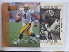Brett Favre - 1998 upperdeck superpowers INSERT #s4 - Green Bay Packers