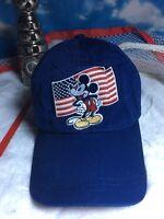 Mickey Mouse Walt Disney store hat adjustable Strapback cap h49