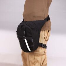 Top Drop Leg Bag Tactical Military Motorcycle Riding Waist Fanny-Pack Canva -BU7