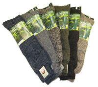 3x Pairs Of Men's Wellington Boot Socks, The Original Wellington Sock, Size 6-11