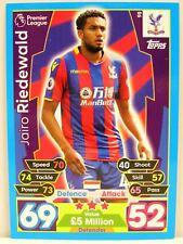 Match Attax 2017/18 Premier League - #098 Jairo Riedewald - Crystal Palace FC