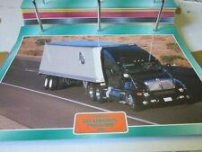 Super Trucks Technologie USa Das kenworth Programm 1988