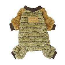 Fitwarm Winter Thermal Dog Clothes Fleece Pet Pajamas Warm Coat Jumpsuit Apparel