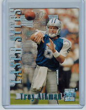 1996 TROY AIKMAN TOPPS STADIUM CLUB LASER SITES MEMBERS ONLY INSERT #LS4 COWBOYS