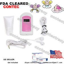 Prenatal Heart Monitors,Pocket Fetal Heart Rate Doppler,Listen Baby Heart,Led,Us