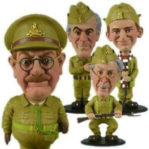 Dads Army Figures Mini Bobble Head Set of 4 Characters