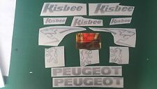 Peugeot Kisbee Decals/Stickers ALL COLOURS AVAILABLE
