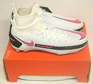 Nike Jr. Phantom GT Academy DF FG/MG  Soccer Shoes (CW6694-160) Youth Sz 5.5