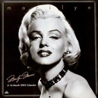Marilyn Monroe Calendar 2002 Frank Powolny Promo Pinup Photo Publicity MT SEALED