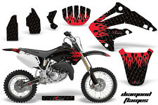 Dirt Bike Graphics Kit MX Decal Wrap For Honda CR85 CR 85 2003-2007 DFLAME R K