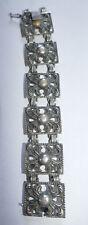 Schmuck Silber 925 Armband und Kette Set BAS Blachian Antik Schmuck Vintage
