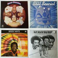 4x soul funk bundle. Sweet Sensation, Soul comp, Barry White, The Independents