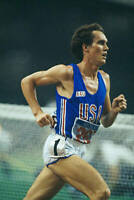 OLD SPORTS PHOTO OLYMPICS American Distance Runner Craig Virgin 1985