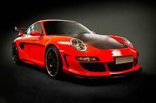 Leinwand Bilder Porsche 911 GT R 3 Rot Supersportwagen