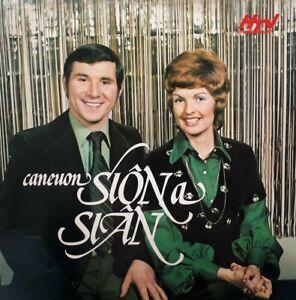 Caneuon Sion A Sian LP.Wren WRL559.HTV Cymru Wales.Dai Jones/Jenny Ogwen.