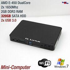 MINI MICRO COMPUTER AMD E-450 DUAL CORE 320 GB WLAN HDMI GIGABIT RADEON 6320