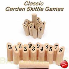 Unbranded Skittles Outdoor Garden Games