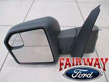 15 thru 18 F-150 OEM Ford Power Adjustable Glass No Turn Signal LH DRIVER Mirror