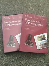 The Great Courses-Fundamentals Of Photography 4 DVDs + Guide Book Joel Sartore