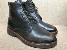 Excellent BUTTERO Brown Men's Distressed Sz EUR 41  US 8   UK 7 Made In Italy