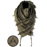 Rifles Shemagh Military Army Tactical Neck Arab Scarf Scrim Headscarf Green