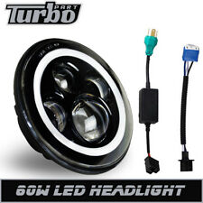 "DOT 7"" 60W Angel Eye Headlight Fit Honda Shadow VT VT1100 VT750 VT600 VF750"