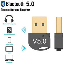 USB Bluetooth 5.0 Wireless Adapter Dongle Audio Receiver for PC Win 10 8/XP