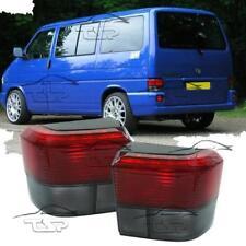 REAR TAIL LIGHTS RED-SMOKE FOR VW BUS T4 90-03 MULTIVAN TRANSPORTER