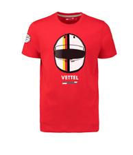 Scuderia Ferrari F1 Sebastian Vettel 2018 Fanwear T-shirt XL or XXL