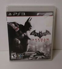 Batman: Arkham City PS3 (Sony PlayStation 3 PS3, 2011) Complete & Tested