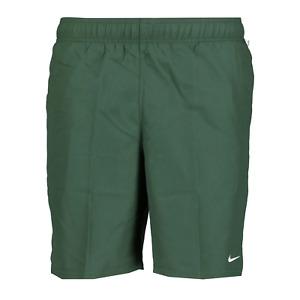 Nike Classic Logo Green Swim Shorts