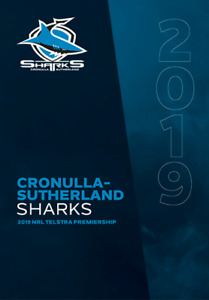 Stamp Pack Australia 2019 NRL CRONULLA-SUTHERLAND SHARKS Footy Sheetlet