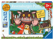 CHILDRENS THE GRUFFALO 2 X 12 PIECE JIGSAW PUZZLE RAVENSBURGER