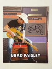 Brad Paisley Signed Autographed 8x10 Photo Country Music Star