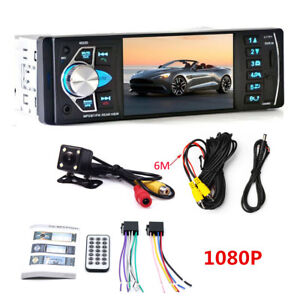 "4.1"" 1DIN Radio Audio Stereo Video Bluetooth/FM//AUX/DRV MP5 Multimedia Player"