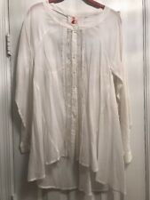 BNWT Free People Button Down Blouse Size S