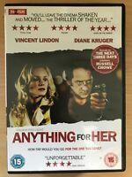 Diane Kruger Anything pour Her ~2008 Français Suspense Thriller GB DVD
