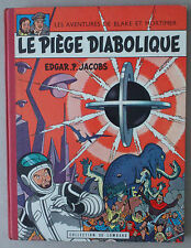 JACOBS  **  BLAKE ET MORTIMER. LE PIÈGE DIABOLIQUE  **  EO 1962