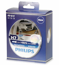H7 Philips racing Vision 150% 12972rvs2 12v lámpara Duo set 2 trozo